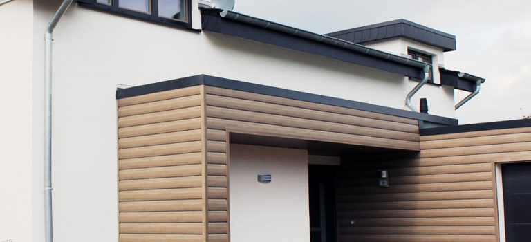 Dekora-Fassadenprofile – Nie mehr streichen!