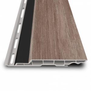 Kunststoffprofil in Holzoptik